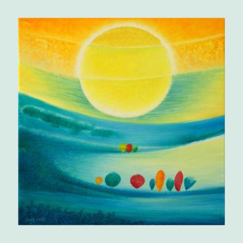 177 / Sluneční koupel / 2015