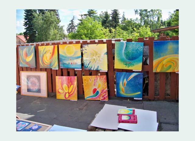 Kladenské dvorky - výstava 2015